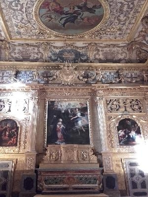 Chapelle de l 39 annonciade des p nitants blancs - Plafond de la chapelle sixtine description ...