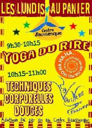 Les cours sont gratuits mais il y a une cotisation au Centre Baussenque de  8€ pour l année si vous assistez à plusieurs cours. Mini séance de Yoga du  rire ... 27a9786575a